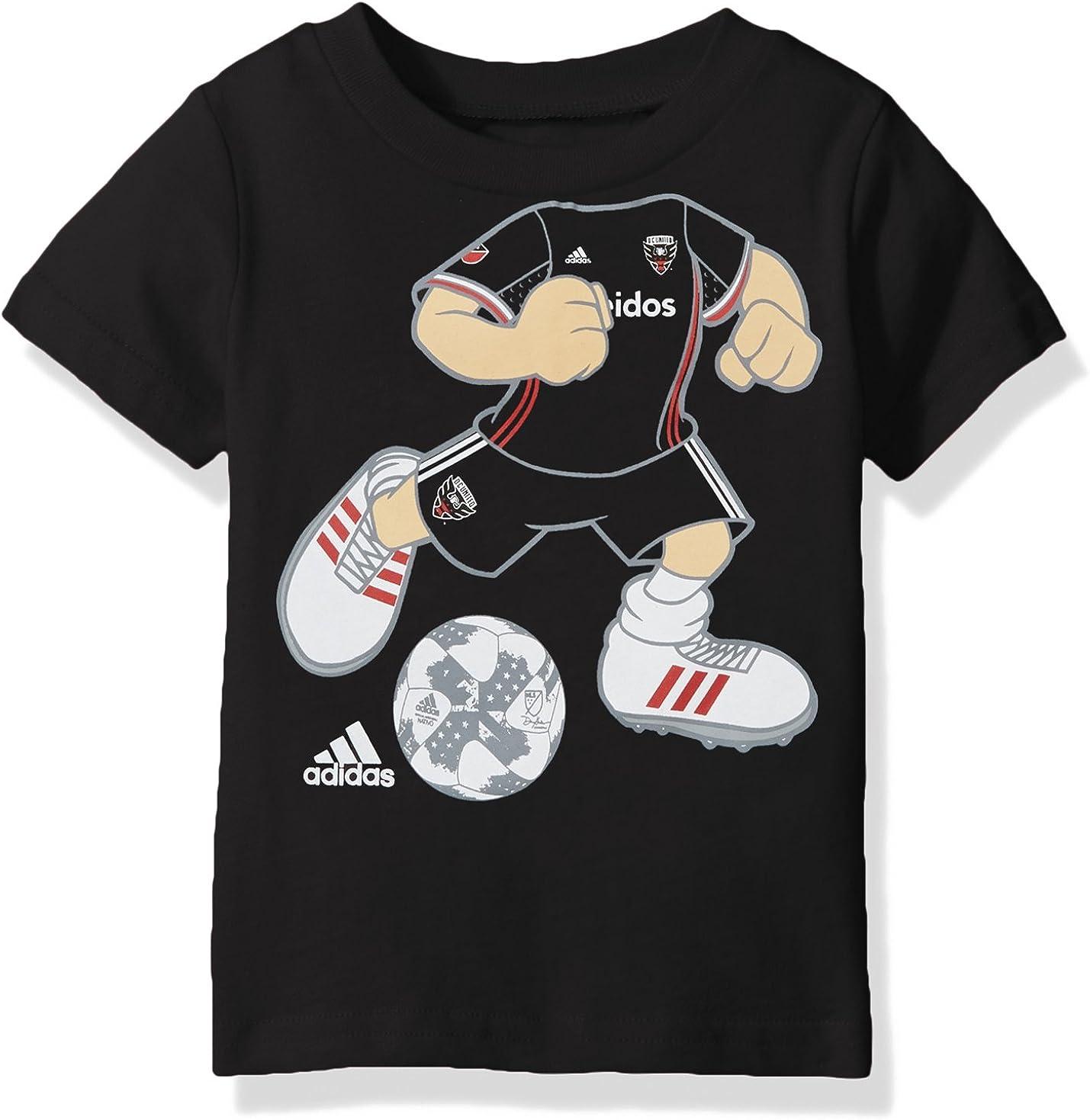 Dark Navy Kids Medium MLS by Outerstuff Boys War Paint Logo Short Sleeve Tee 5-6