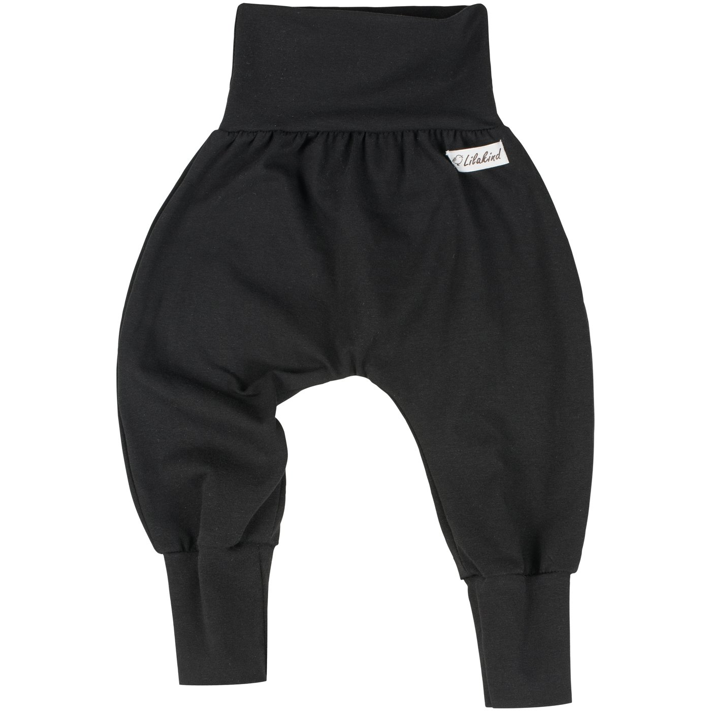 50//56-86//92 Lilakind Pumphose Hose Babyhose Stretchhose Uni Einfarbig Schwarz Gr Made in Germany