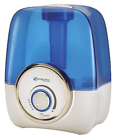 PureGuardian 13 5L Output per Day Ultrasonic Cool Mist Humidifier  Single  Room  Desk. Amazon com  PureGuardian 13 5L Output per Day Ultrasonic Cool Mist