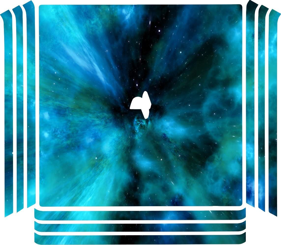 c584f9567ae38 Amazon.com: Space Galaxy Stars Background Playstation 4 (PRO) PS4 ...