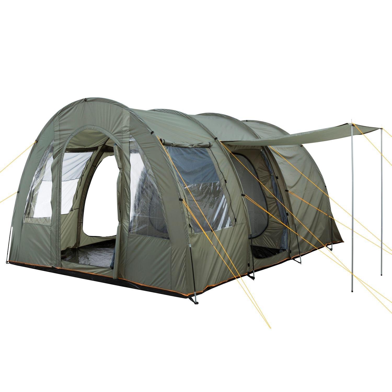 Amazon.com  C&Feuer - Big Tunnel-Tent Olive-Green / Grey 5000 mm  Garden u0026 Outdoor  sc 1 st  Amazon.com & Amazon.com : CampFeuer - Big Tunnel-Tent Olive-Green / Grey 5000 ...