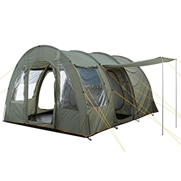 C&Feuer - Big Tunnel-Tent Olive-Green / Grey 5000 mm  sc 1 st  Amazon UK : tunnel tent - memphite.com