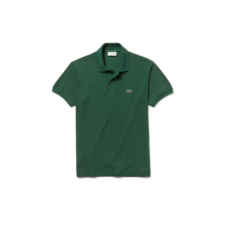 Vert (Vert 132) M Lacoste - L1212 - Polo - Coupe droite - Manches courtes - Homme