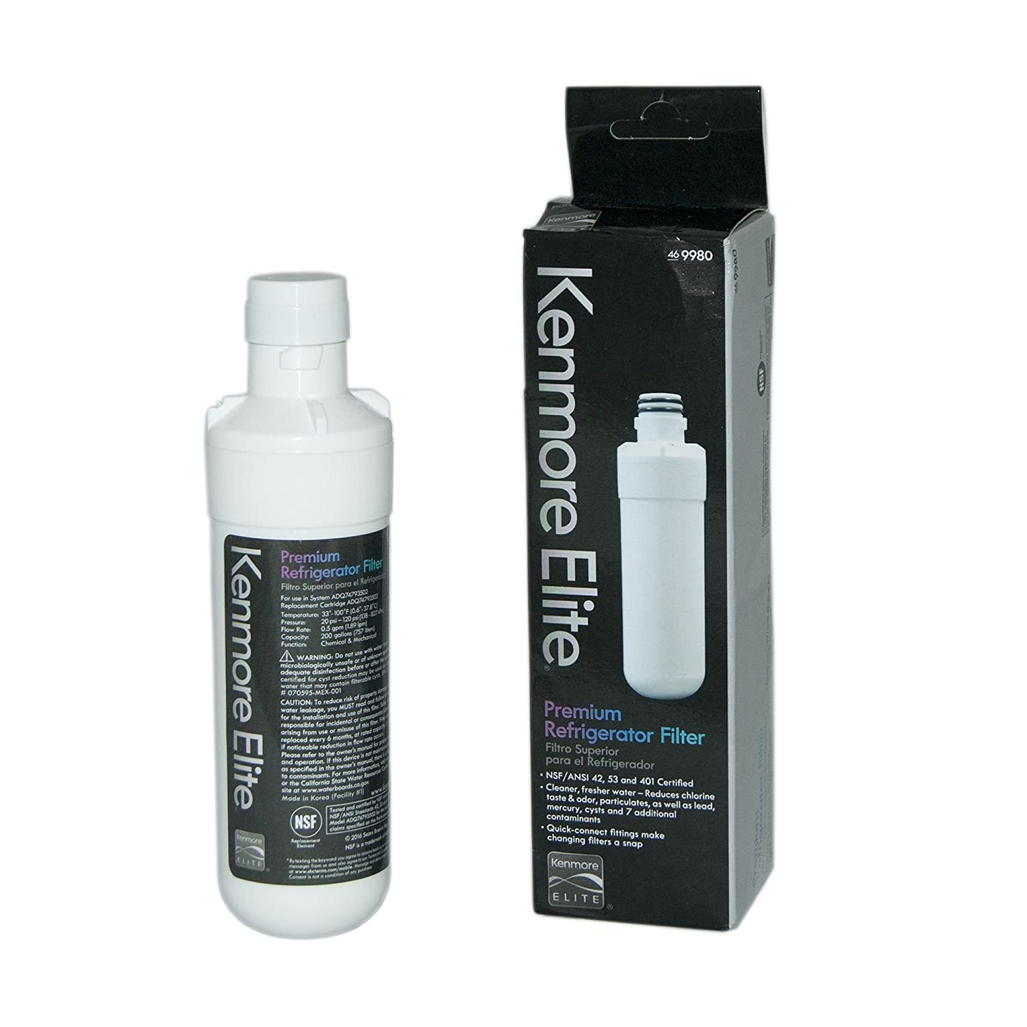 Kenmore 9980 Refrigerator Water Filter