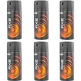 New Design Axe Moschus Deospray 6 x 150ml = 900ml