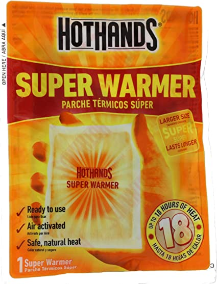 HotHands Body /& Hand Super Warmer 40 Count