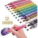 12 Set YCSDEN Acrylic Paint Markers Pens