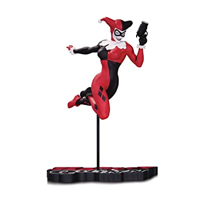 DC Collectibles Harley Quinn Red, White & Black Harley Quinn by Terry Dodson Statue: Toys & Games