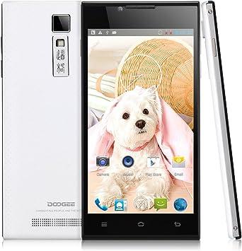 DOOGEE TURBO DG2014 Blanco Unlocked Movil 3G Con Pantalla de 5 ...