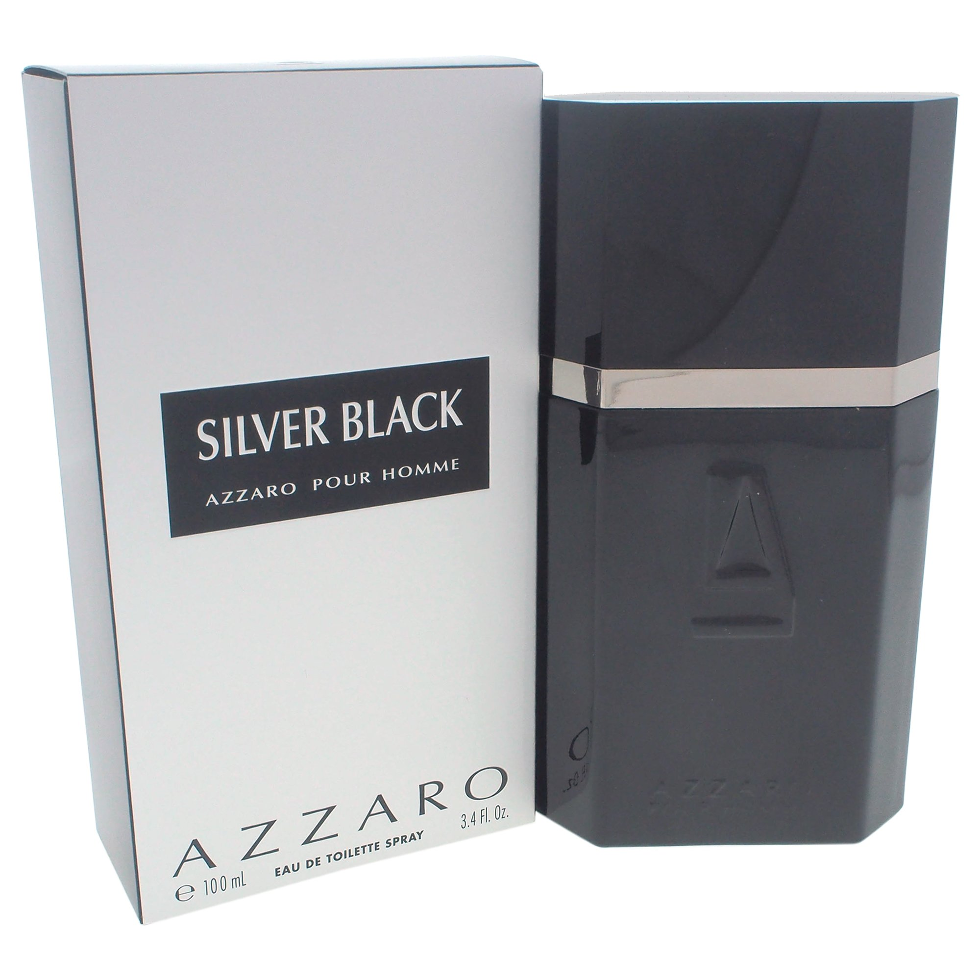 Azzaro Silver Black De Loris Azzaro Eau De Toilette Masculino 100 ml