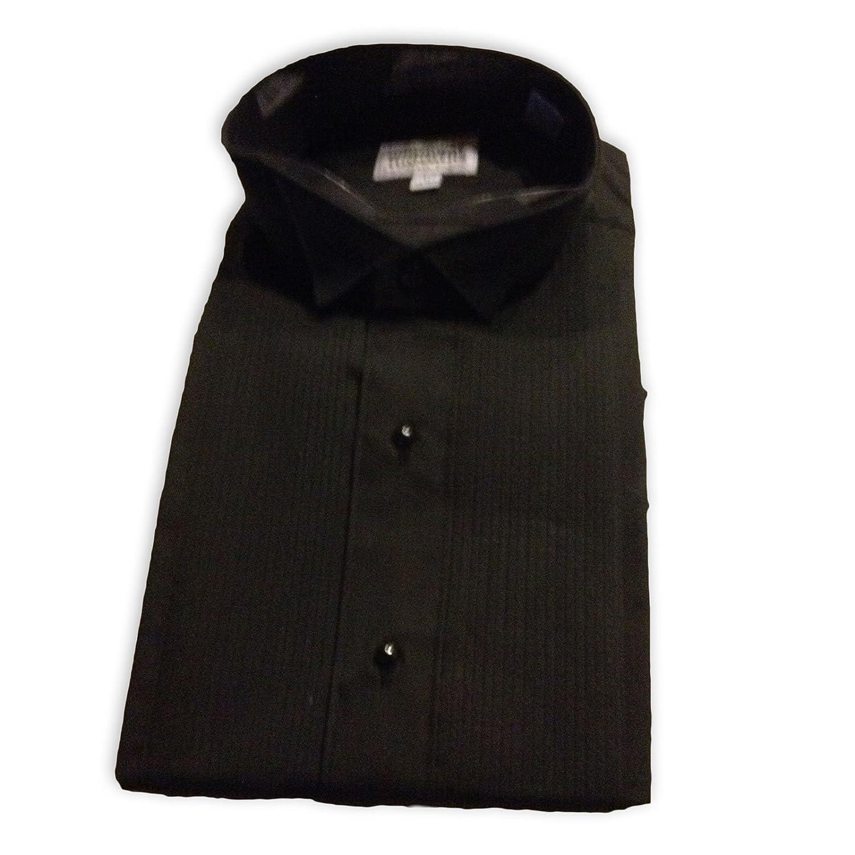 Broadway Tuxmakers Men's Tuxedo Shirt, Black