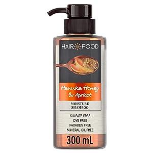 Hair Food Shampoo, Manuka Honey & Apricot, 10.1 Ounce