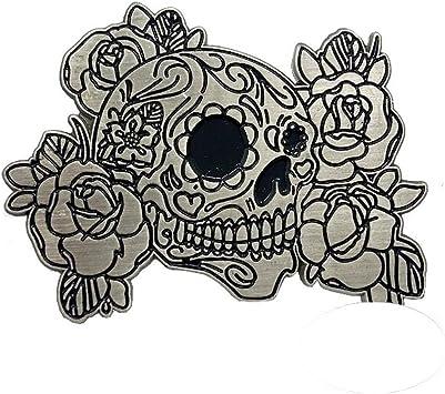 Pins badges tête de mort 9