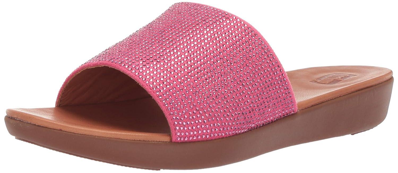 fdb181e97 Amazon.com | FitFlop Women's Sola Crystalled Slide Sandal | Slides