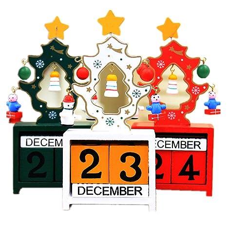 Calendario Con Numero Giorni.Calendario Dell Avvento Con Numero Blocchi Da Echi Albero