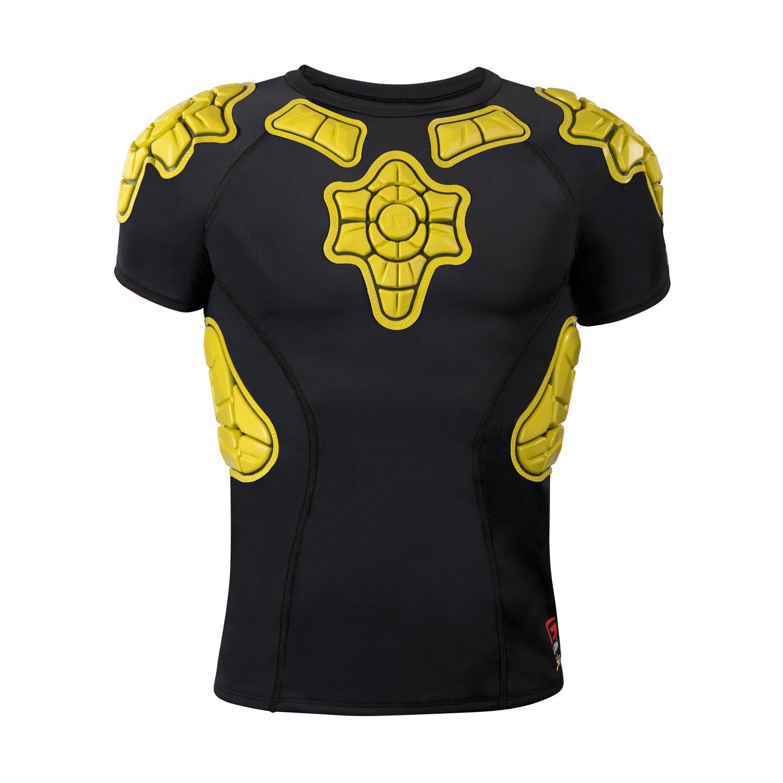G-Form Youth Pro-X Short Sleeve Shirt, Yellow, Large