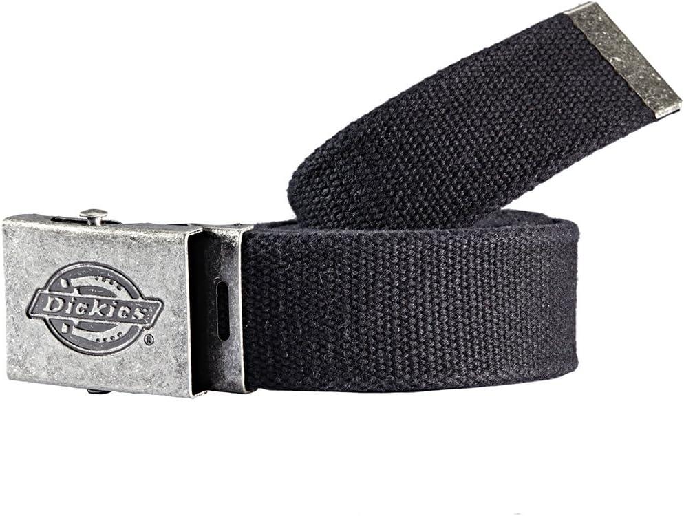Dickies Cintura In Tessuto Con Fibbia In Metallo Con Logo Nero 1 Pezzo Be500