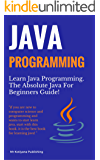 Java Programming: Learn Java Programming in One Day.  A Beginners Reference Guide To Learn Programming in java