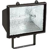 as - Schwabe 44159 Halogen-Strahler 1500 W, schwarz, mit Leitung