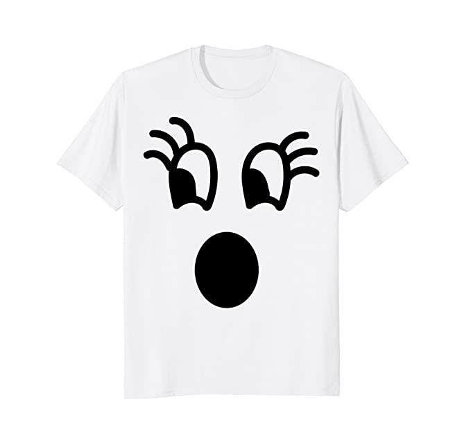 mens funny ghost costume shirt funny halloween shirts for kids 2xl white
