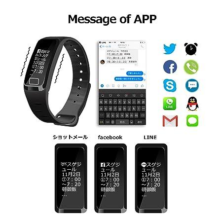 NEWYES Presión arterial reloj inteligente Fitness Tracker nbs07 gestión inteligente de pulsera con pulsómetro spo2h sueño podómetro para Android IOS ...