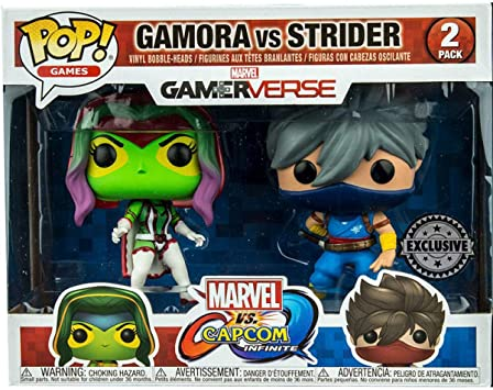 LAST LEVEL Figura Pop Pack Cap MARV Gamora VS Strider, Multicolor (FFK22785): Amazon.es: Juguetes y juegos