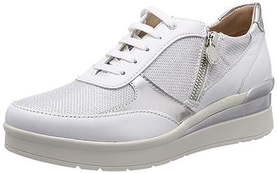 Stonefly Damen Cream 12 Nappa/Textile Sneaker