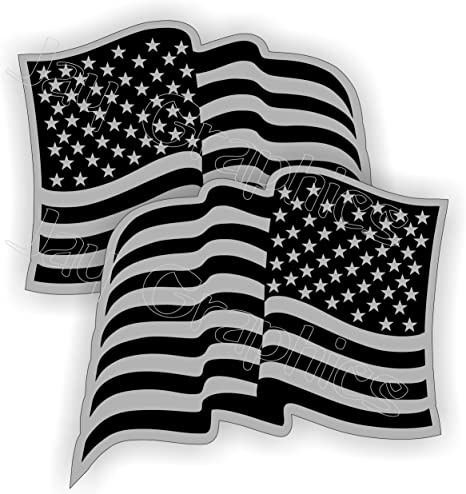 American Flag Black Ops Stickers DecalsAR-15 5.56 Flags AR15 Survival Gear
