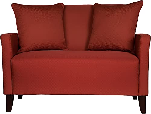 angelo:HOME Sutton Loveseat Papaya