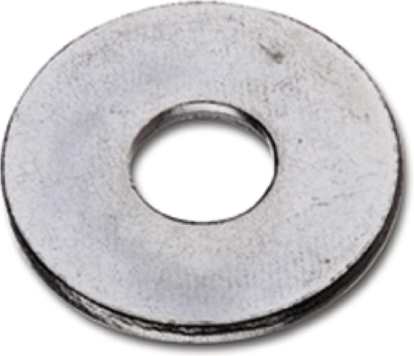 DIN 9021 ISO 7093 SECOTEC Beilagscheibe mit gro/ßer Auflage 100 St/ück M 10 Unterlegscheibe verzinkt
