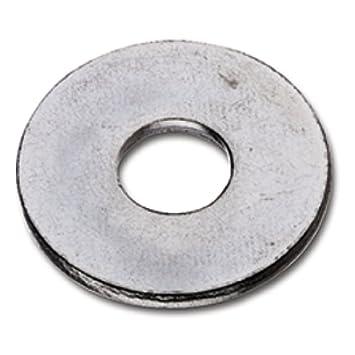 8 x 24 mm DIN 9021   NEU 50 Stück Unterlegscheiben verz