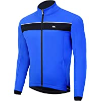 Souke Sports - Chaqueta de Ciclismo Hombre Chaqueta Ligera de Invierno MTB Reflectante Transpirabilidad Impermeable…