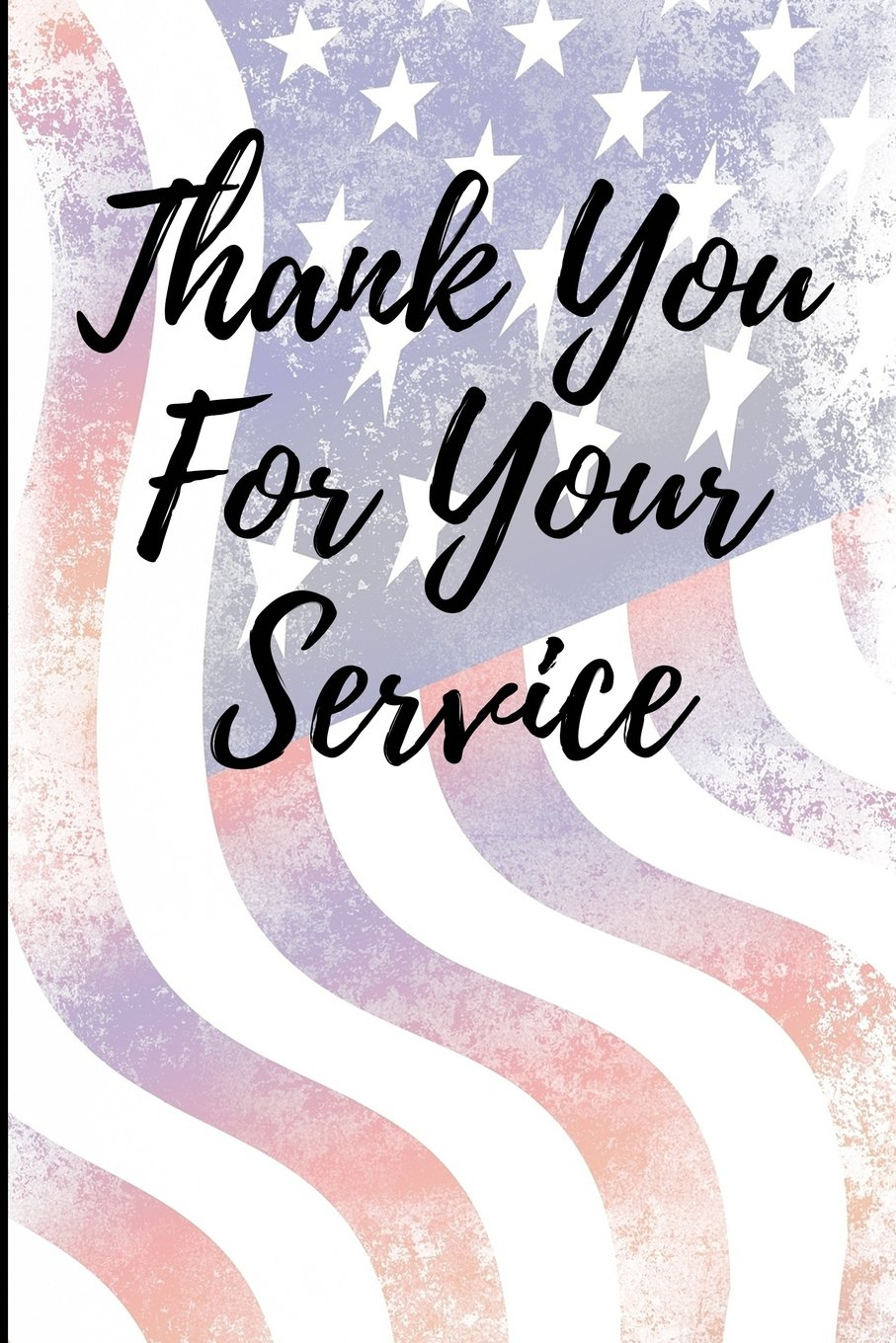 Download Thank You For Your Service: Blank Lined Journal PDF