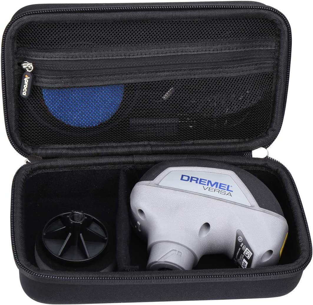 Aproca Hard Storage Travel Case for Dremel Versa Cleaning Tool PC10