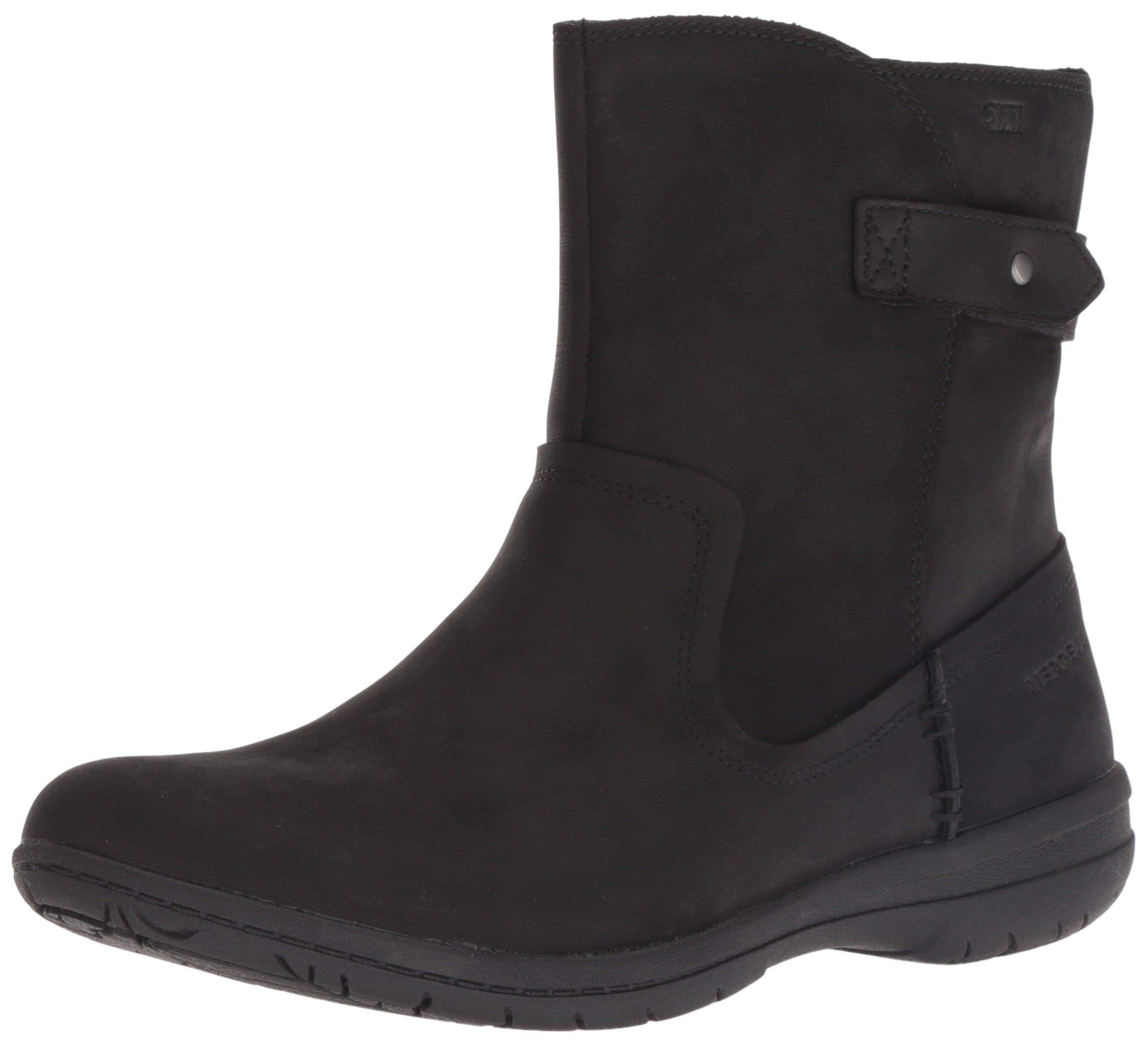 Merrell Women's Encore Kassie MID Waterproof Fashion Boot Black 9 M US