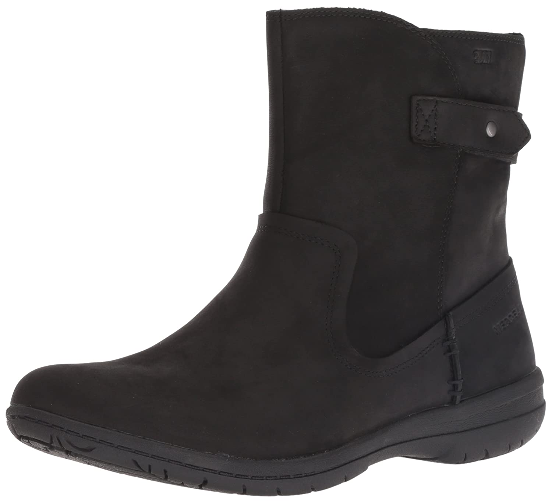 Merrell Women's Encore Kassie Mid Waterproof Fashion Boot B078NG6R56 10.5 M US|Black
