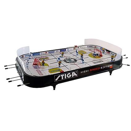 Amazon.com: Stiga High Speed Hockey Table Game New 37 inches\'\' Large ...