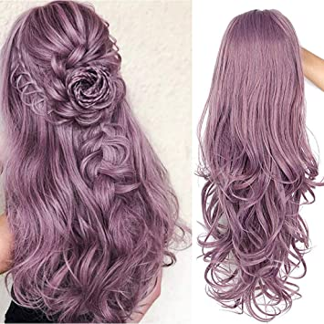 Amazon.com: Peluca de pelo sintético de encaje para mujer ...