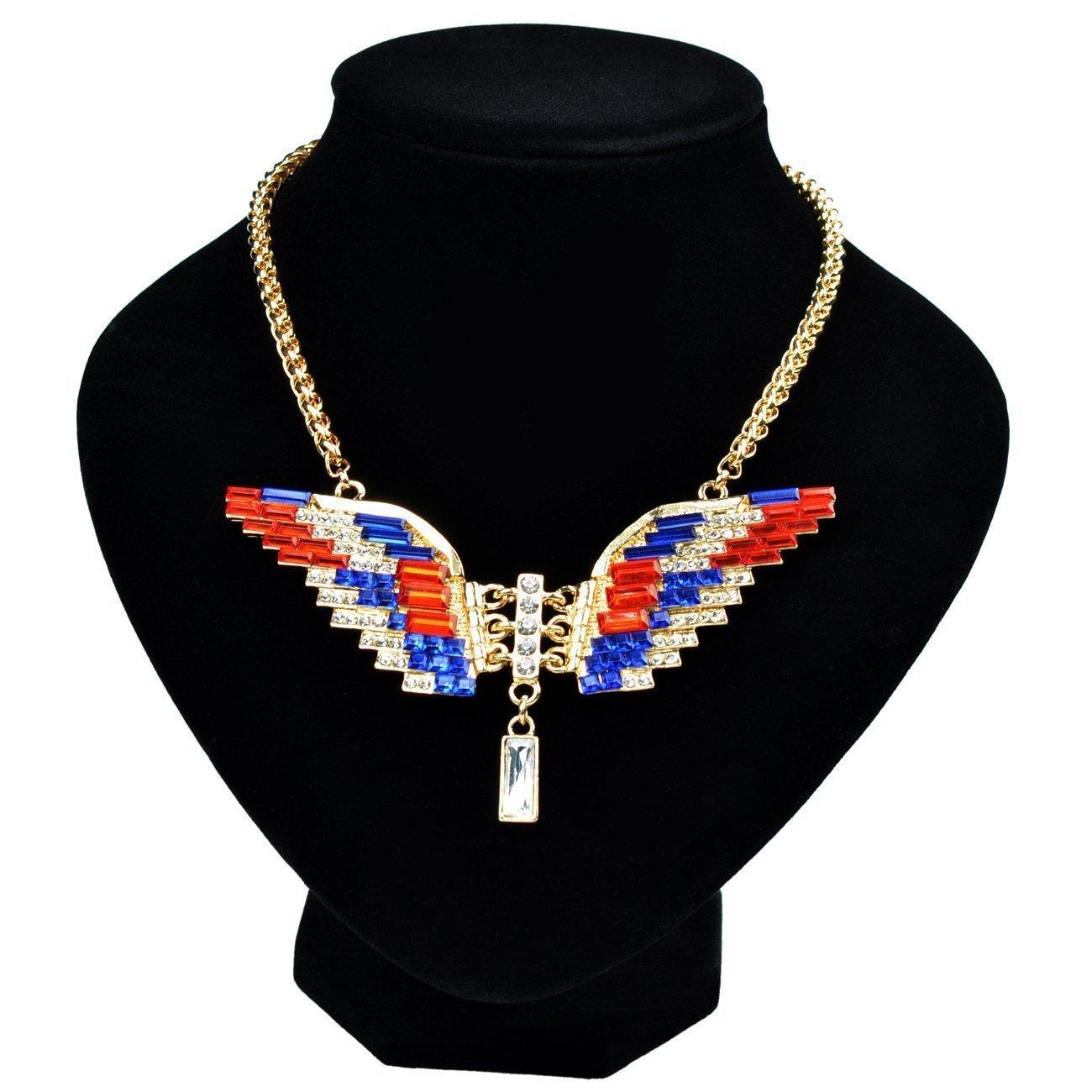 TOOGOO(R) nero Supporto esposizione dell'orecchino del pendente del collare dei monili del braccialetto del mannequin negozio - XL 049243