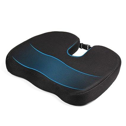 MonTrüe Back Cushion 404558 - Cojin de espuma con memoria para silla ...