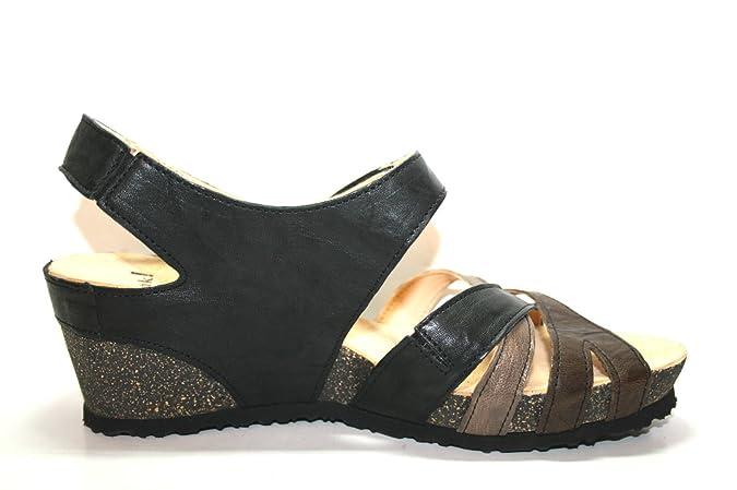 Think Zilli 82325 Damen Sandalen (42, Schwarz (sz/kombi 09)): Amazon.de:  Schuhe & Handtaschen