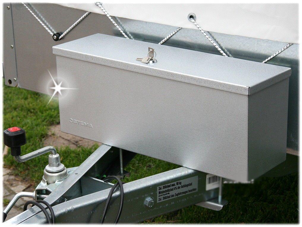 *STEMA Deichselbox Staubox PKW Anhänger Werkzeugbox Werkzeug-Kiste Koffer Metall*