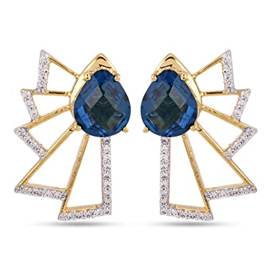 d96e254f0bb90 Tistabene Retails Contemporary Colored Stones Stud Earring ...
