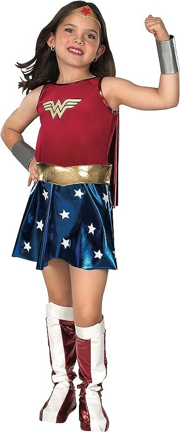 Super Hero Wonder Star Girl Costume Sizes 8-10
