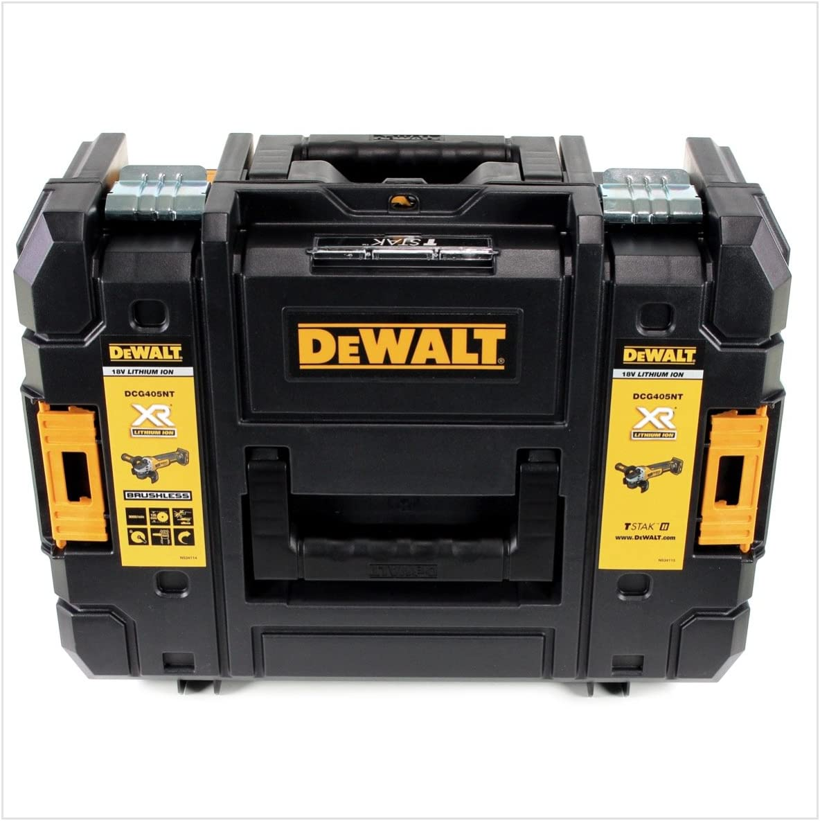 Amoladora angular inal/ámbrica 18 V, 125 mm, sin escobillas, incluye bater/ía de 2 Ah, sin cargador DeWalt DCG 405 NT