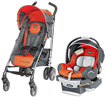 Amazon.com: Chicco Liteway Plus KeyFit 30 Travel System ...