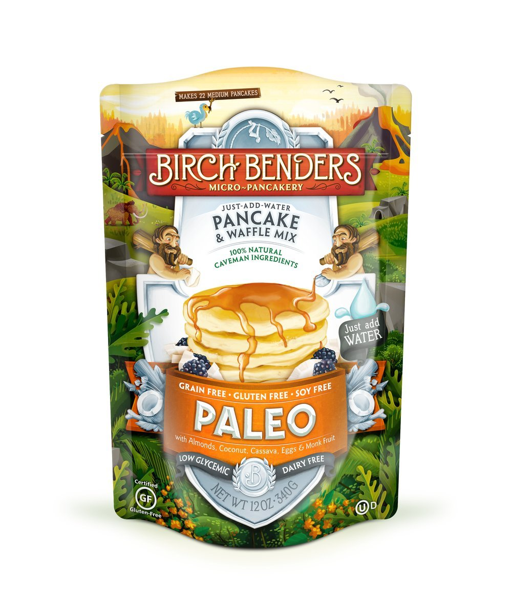 Birch Benders Pancake & Waffle Mix, Paleo, 1 Pack