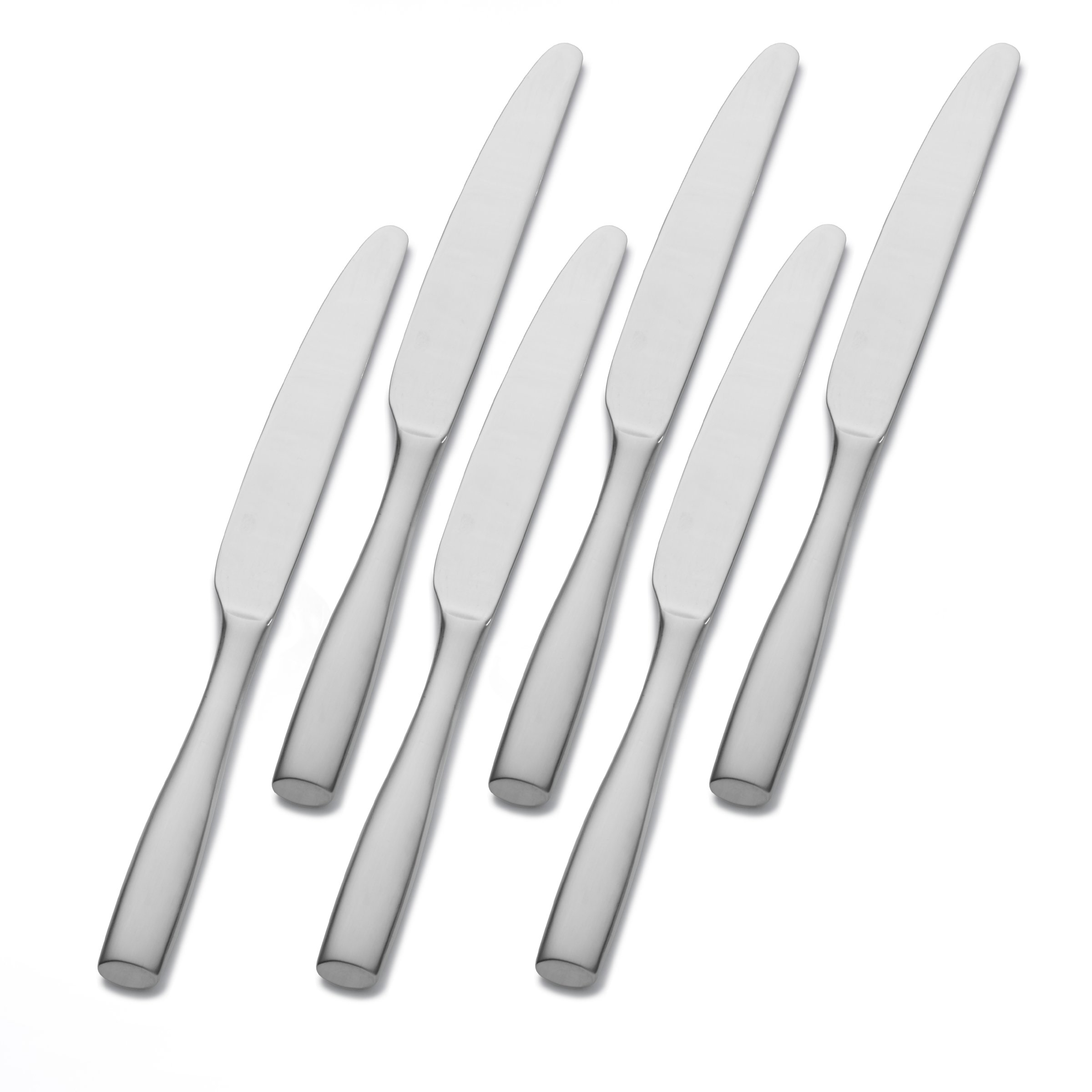 Mikasa Satin Loft Stainless Steel Dinner Knife, Set of 6