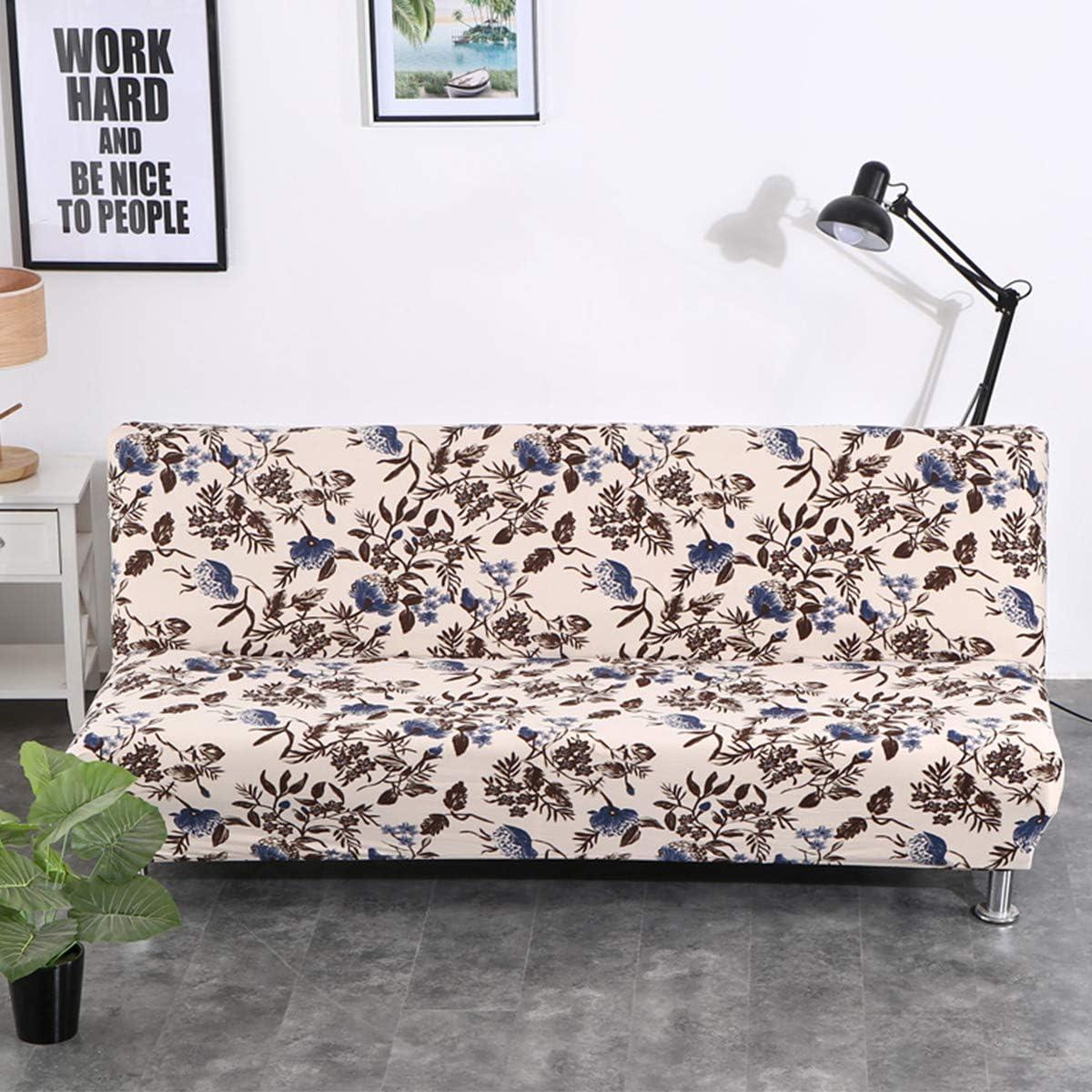 VanderHome Housse de Clic Clac Housse de Canap/é Elastique Banquette lit Couverture de Impression Florale Clematis