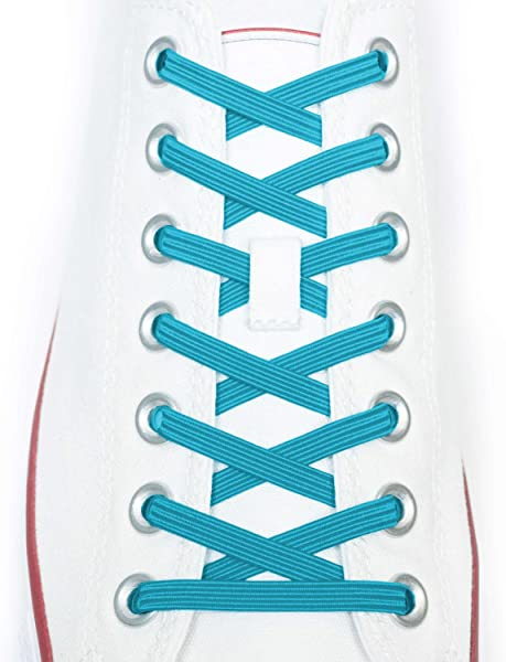 Xpand No Tie Shoelaces System with Elastic Laces  One Size Fits All Adult and Kids Shoes